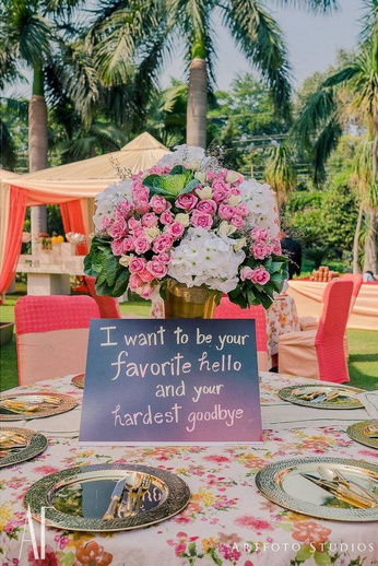 7 ultra creative ways to incorporate love quotes in your wedding tania sachdev wedding right photo by wedding salad by vahi faisals wedding 3 backdrop for the jaimala or stage a big quote can seal the deal junglespirit Image collections