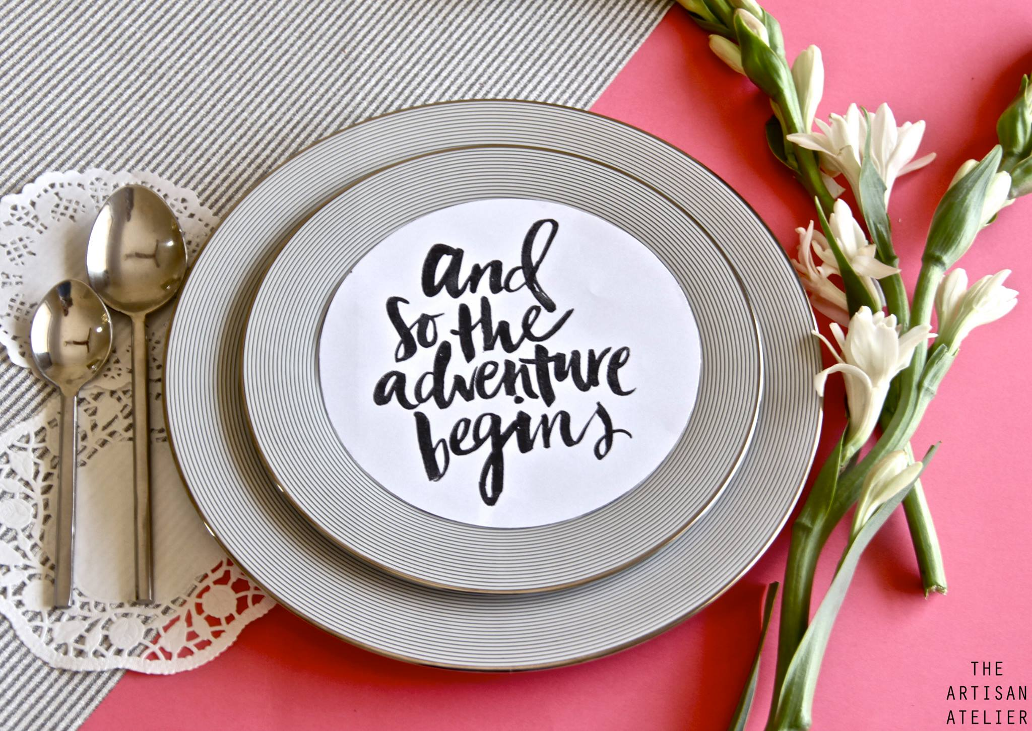 7 ultra creative ways to incorporate love quotes in your wedding 108662349679630798952451115979648846510124o decor by artisan atelier junglespirit Gallery
