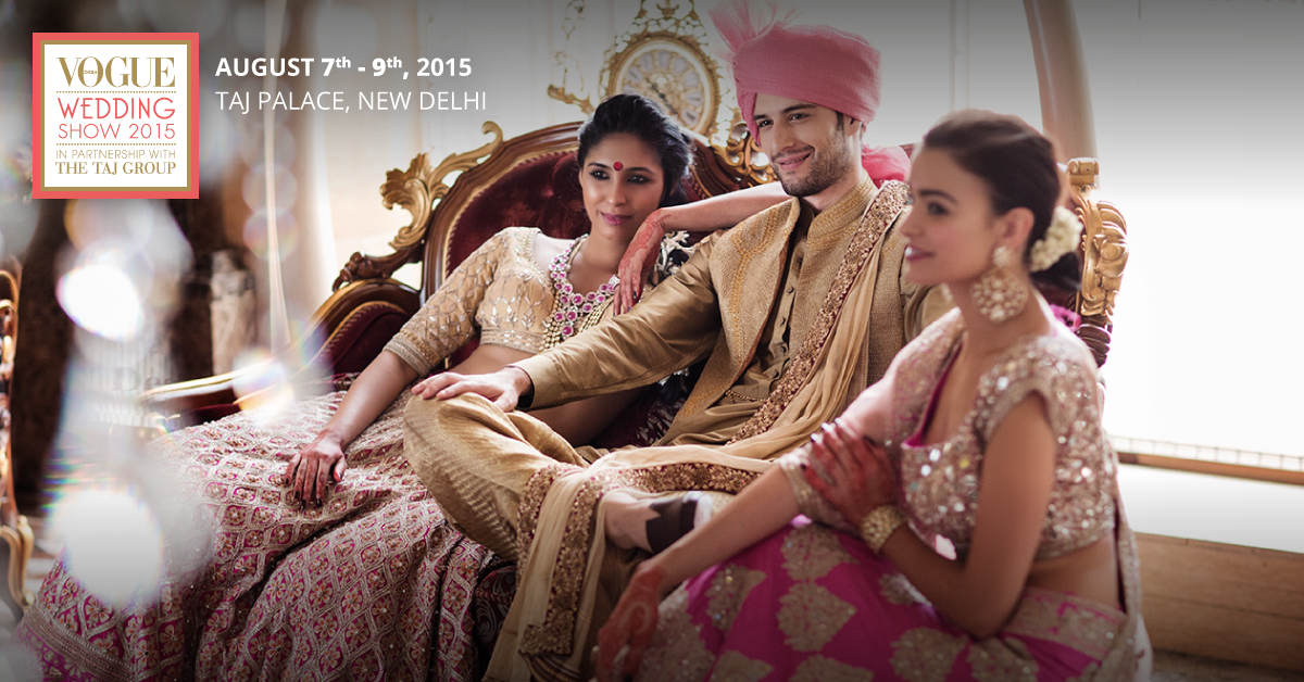 A 6 point guide to the vogue wedding show 2015 wedmegood vws fb ad 2 junglespirit Gallery