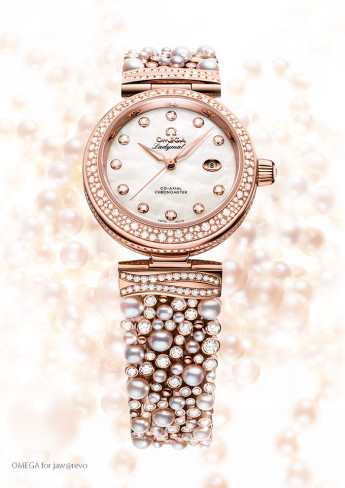 OMEGA-De-Ville-Ladymatic-Diamonds-Pearls.