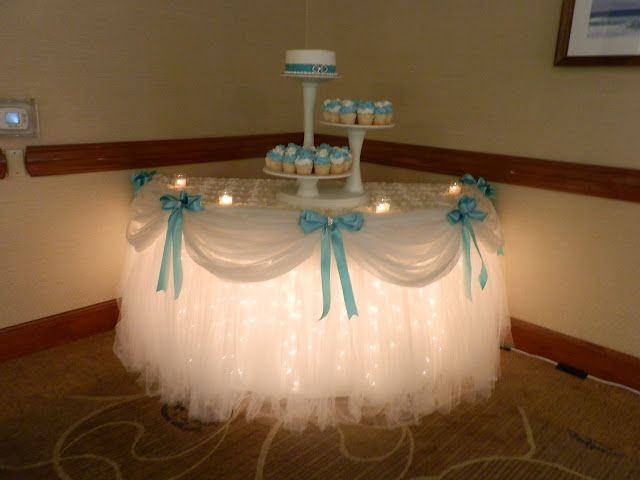 wedding cake table with lights 6 adorable ideas for your dessert table wedmegood 26202