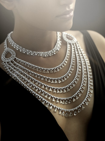 NIRAV MODI - Maharani Necklace - Model Shot
