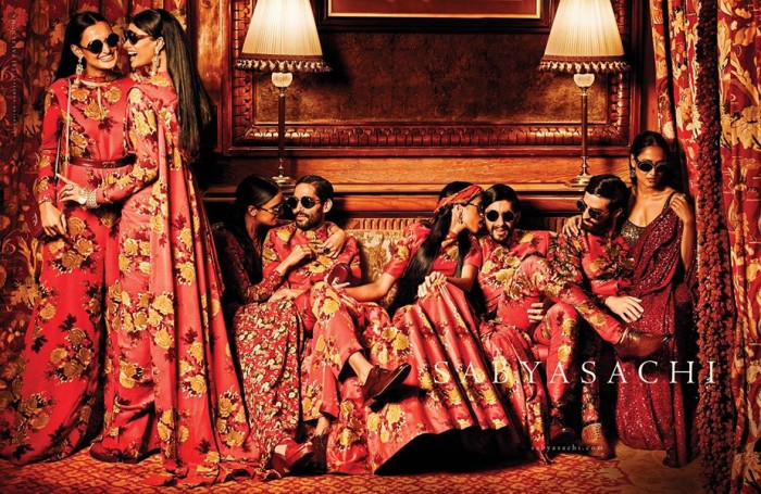 sabyasachi-women-with-sari-and-retro-glasses