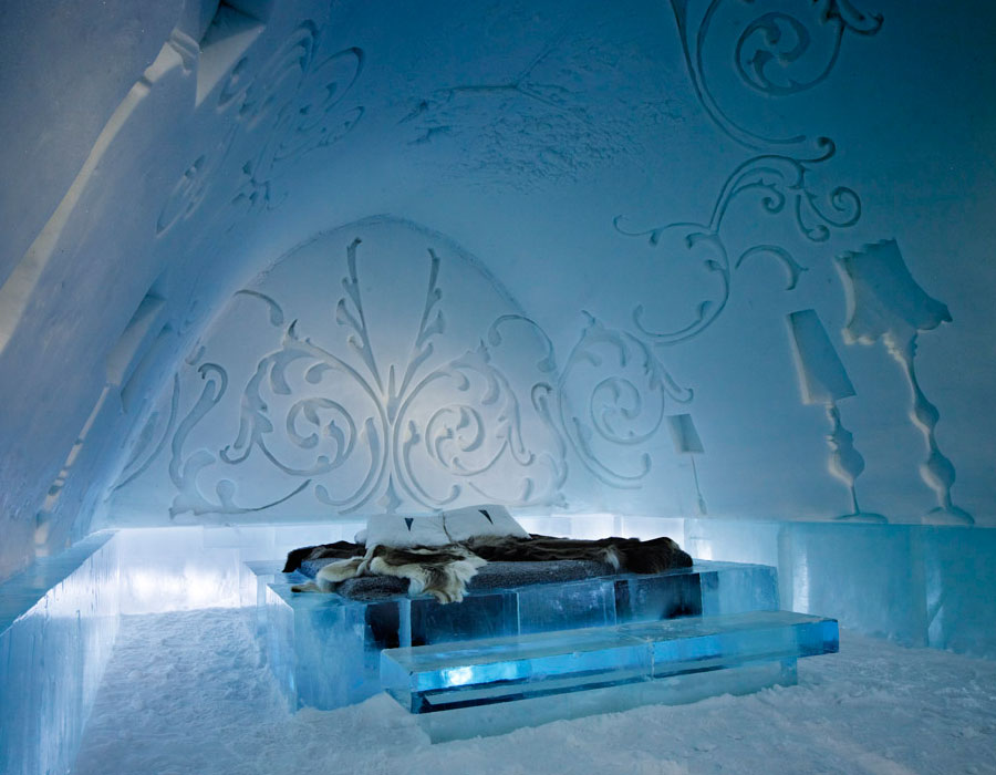 ICEHOTEL- Royal Deluxe Suite 2