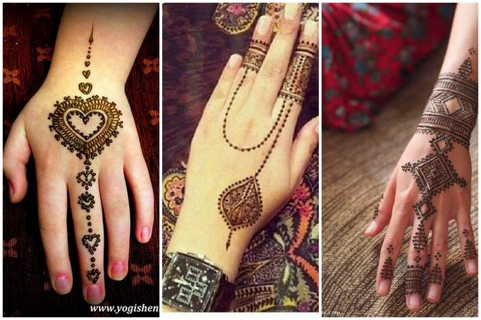 I Bridal Mehndi Jewellery : Trending mehendi that looks like jewellery wedmegood