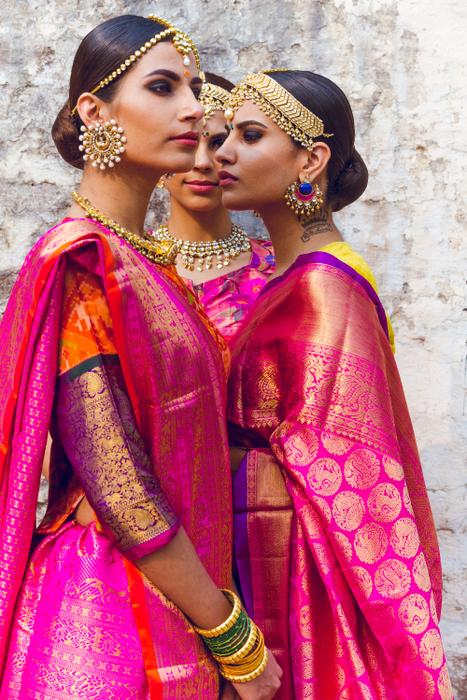 South Indian Bridal Inspiration Gaurang Shah S Saris Wedmegood