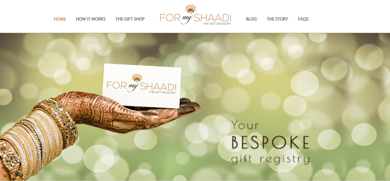 Wedding Gifts For Couples Moving Abroad : Indias First Wedding Gift Registry: About Time, We Say!, WedMeGood