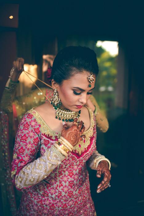 5 - Shreya getting ready+bridal shots - 38