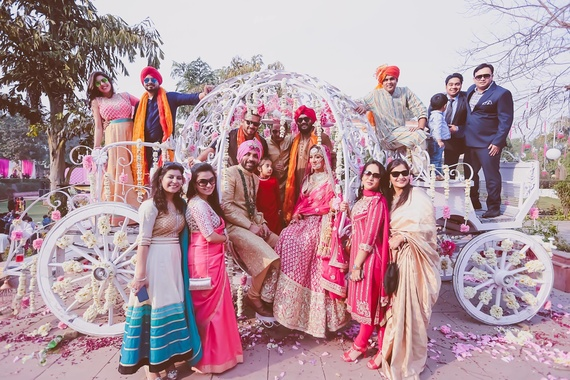 arjun & kiran's wedding