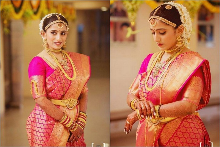Ideal Sarees for South Indian Brides