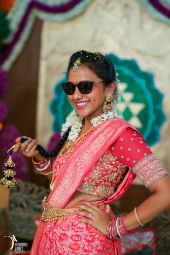 Glam Telugu Wedding With Shiny New Decor Wedmegood