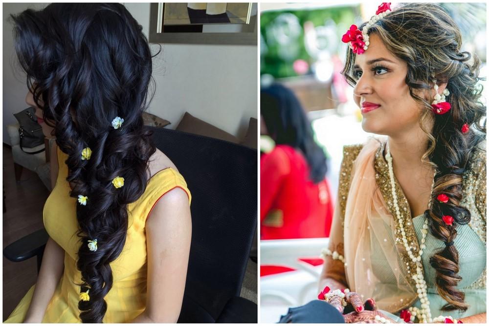 Mehndi Hairstyles For Long Hair : Amazingly cute diy braids that are perfect for a mehendi