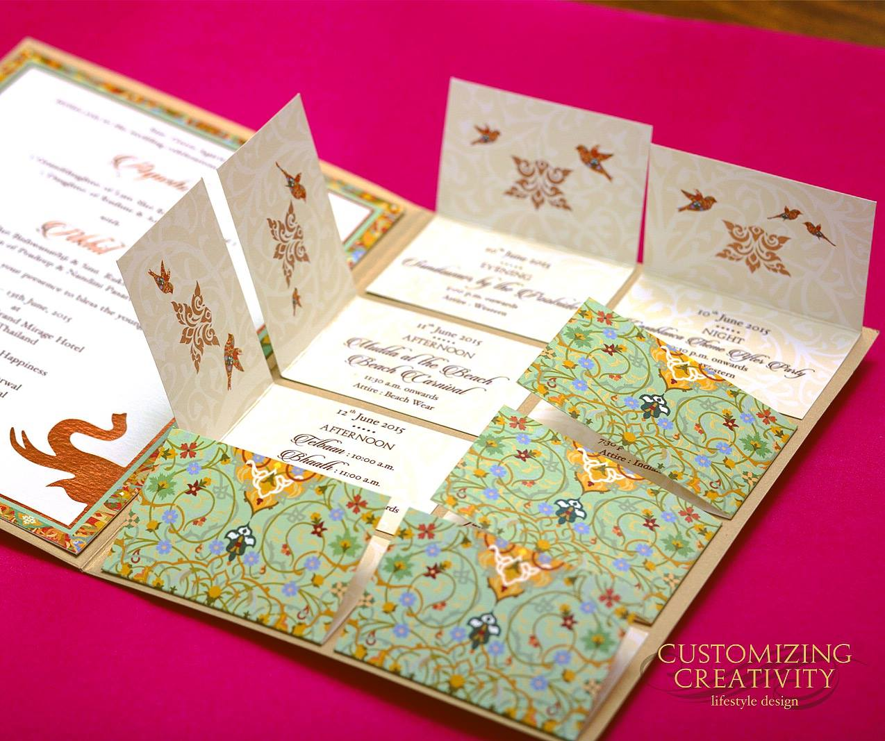 Wedding Invitation Cards in India – Indian Wedding Invitation Card