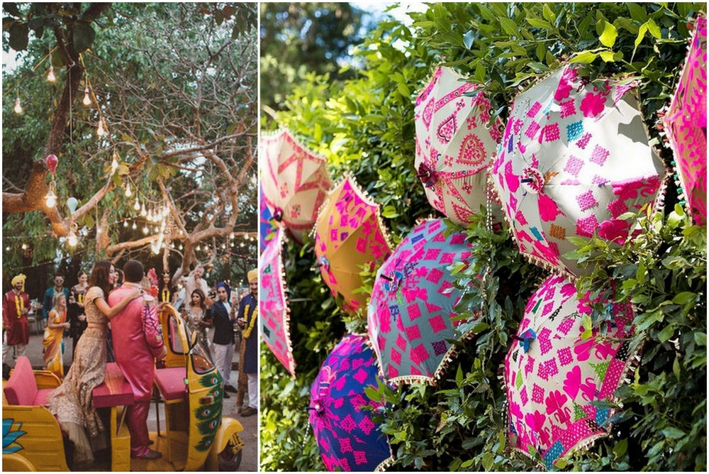 The most popular indian wedding decor trends we spotted on kitschy cool pinterest trends5 junglespirit Choice Image