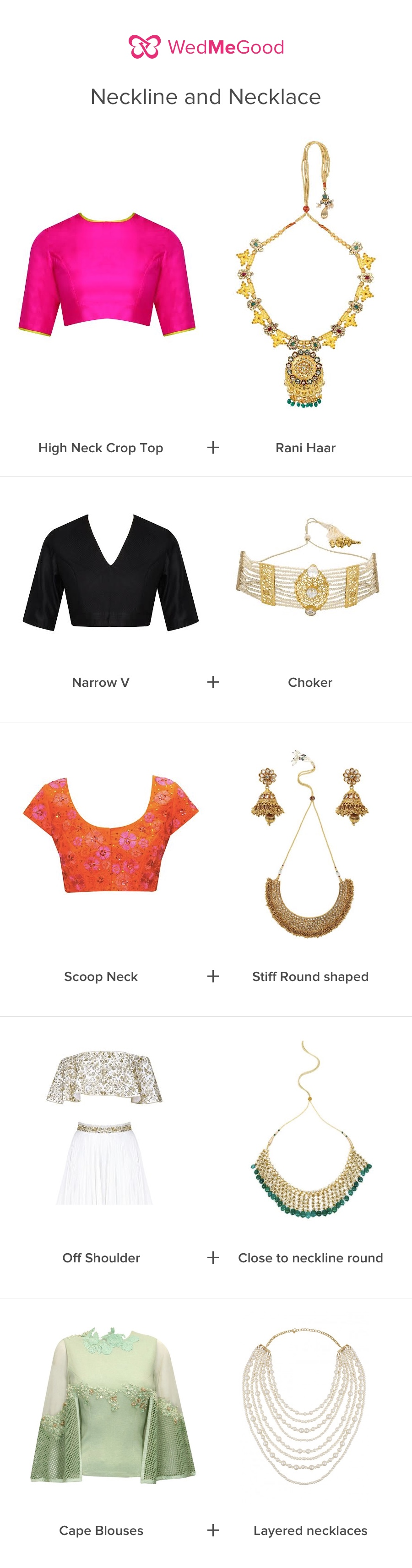 Therulebook How To Pick The Right Jewellery For Your Neckline Wedmegood
