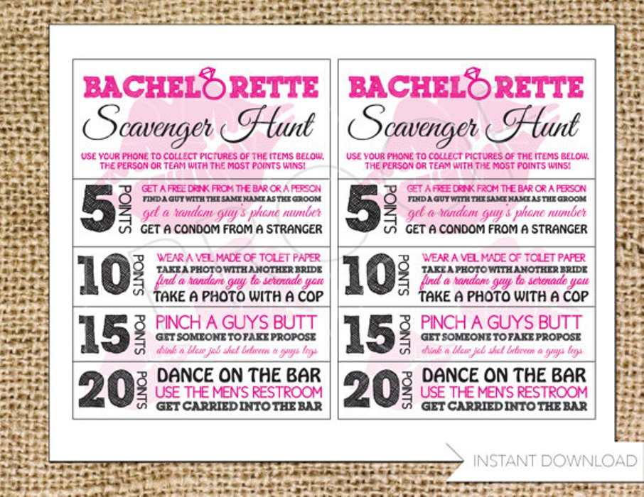 From Wild To Sober 10 Bachelorette Party Games Have The Best