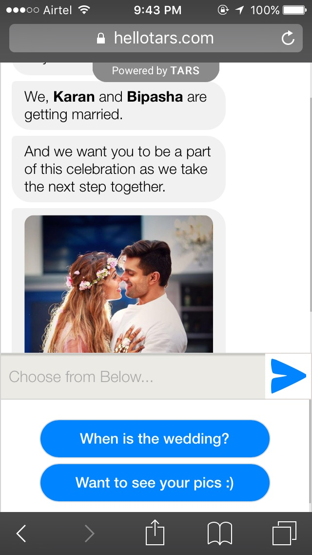 How to invite friends for marriage in whatsapp group chat